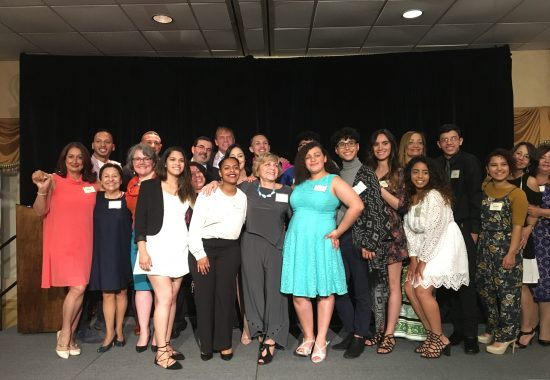 Scholars and administrators at the 2017 dinner.