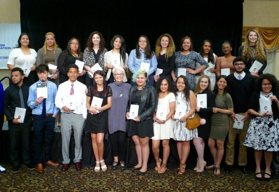 2016 awardees with Nieto book award